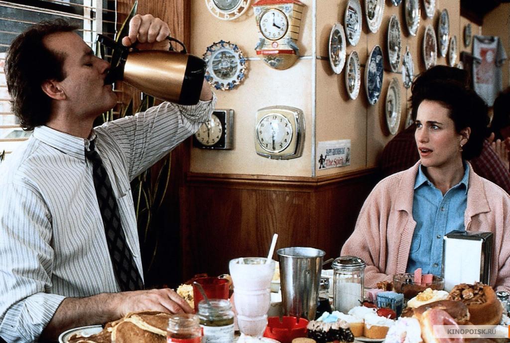 Кадр из фильма День сурка, 1993 года (03)