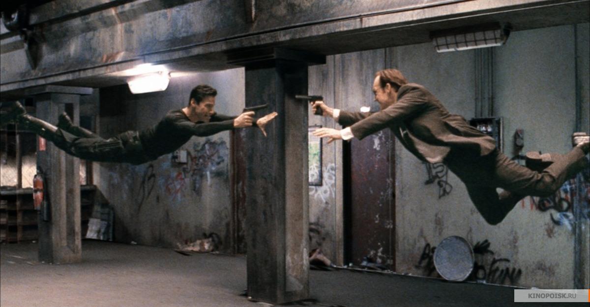 Кадр из фильма Матрица, 1999 год (01)