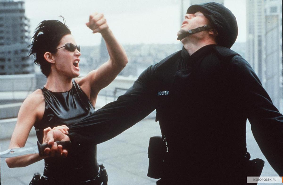 Кадр из фильма Матрица, 1999 год (02)