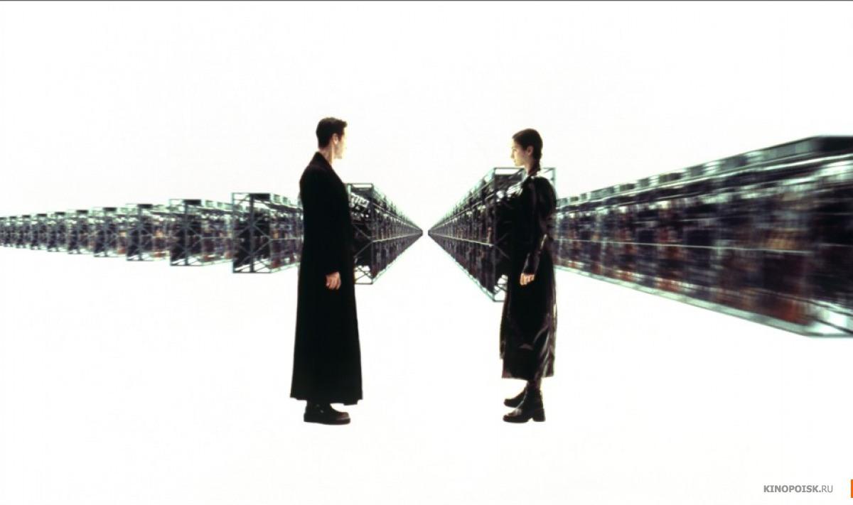 Кадр из фильма Матрица, 1999 год (12)