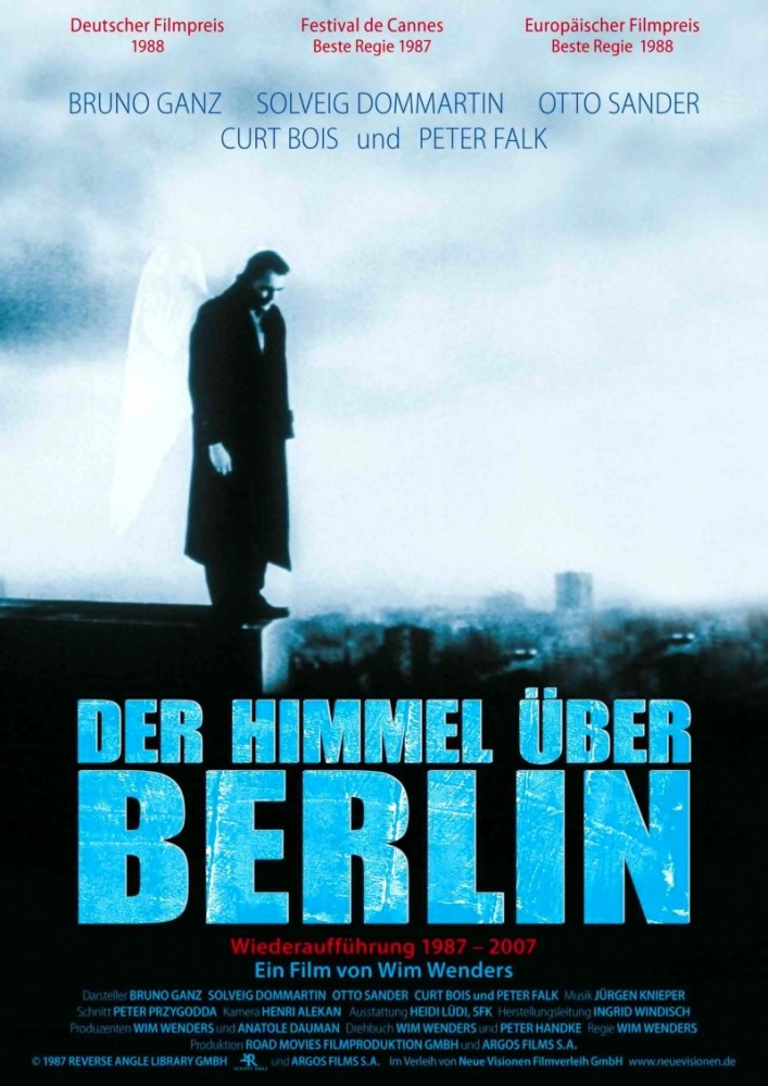 Фильм Небо над Берлином, 1987 год