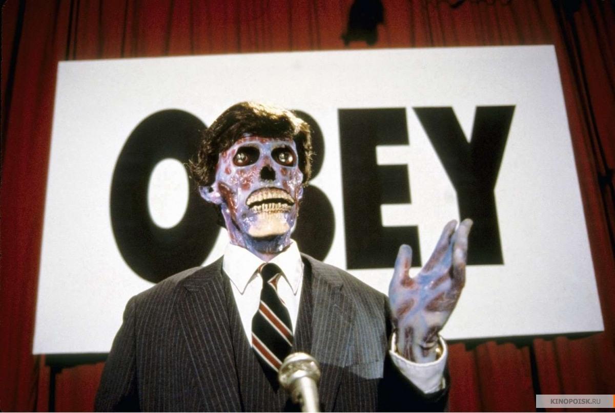 Кадр из фильма Они живут (Чужие среди нас), 1988 год (08)