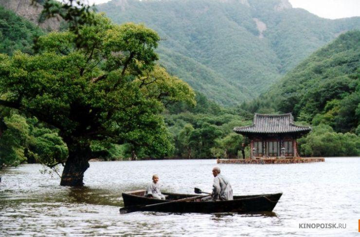 Кадр из фильма Весна, лето, осень, зима... и снова весна, 2003 год (01)