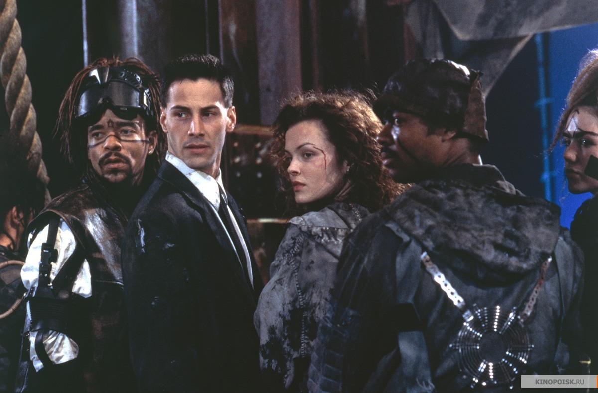 Кадр из фильма Джонни Мнемоник, 1995 год (01)