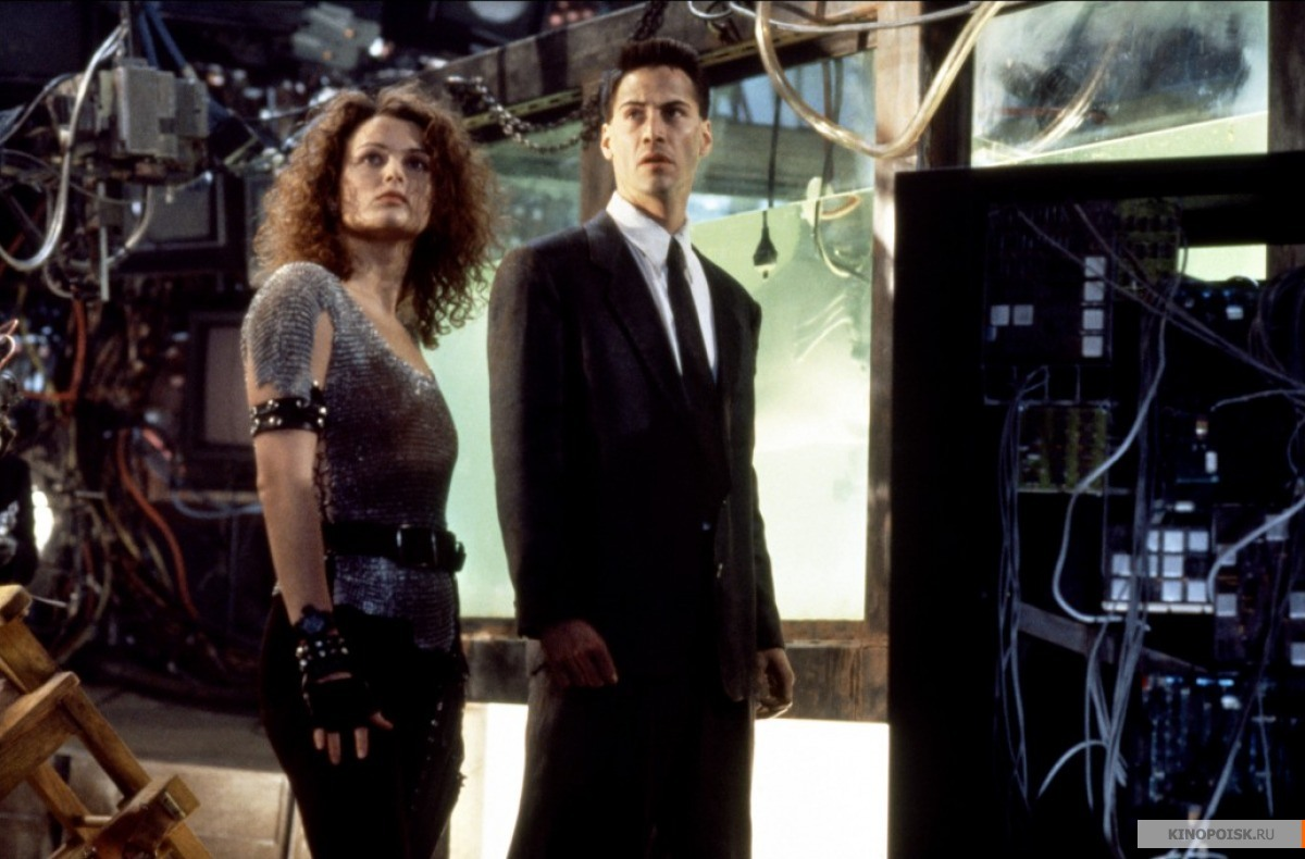 Кадр из фильма Джонни Мнемоник, 1995 год (11)