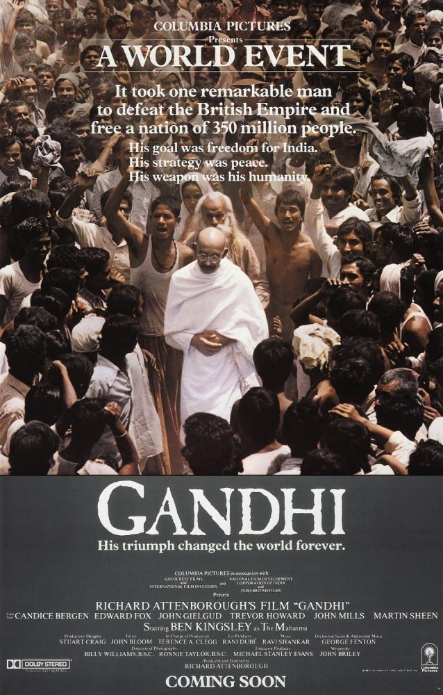 Фильм Ганди, 1982 год