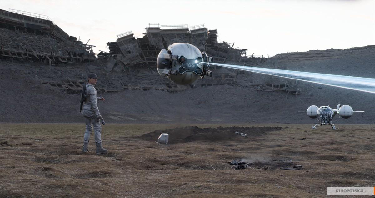 Кадр из фильма Обливион, 2013 год (01)