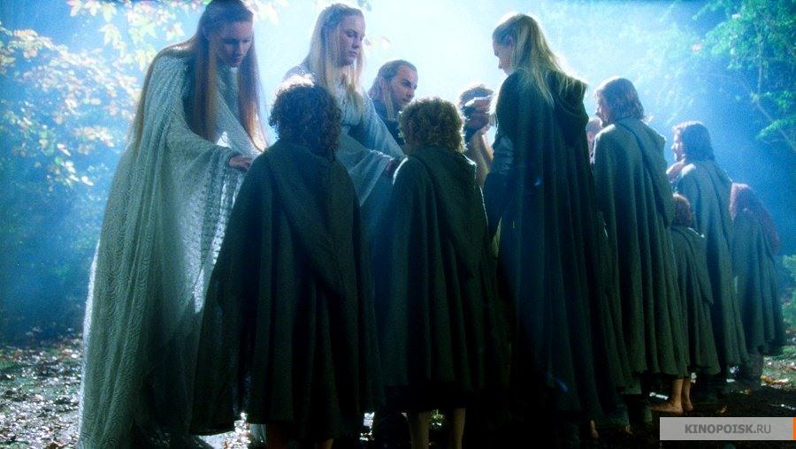Кадр из фильма Властелин колец: Братство кольца, 2001 год (01)