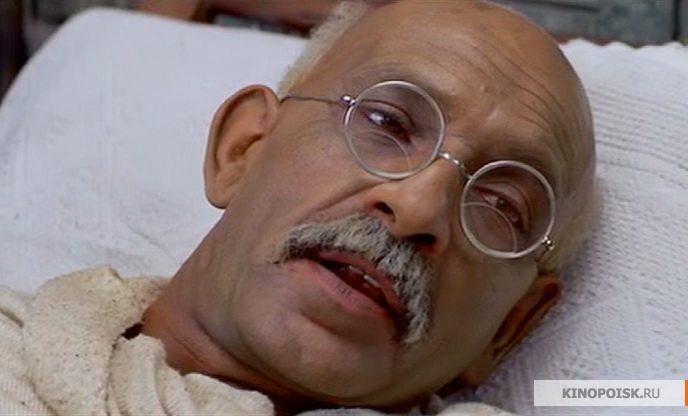Кадр из фильма Ганди, 1982 год (01)