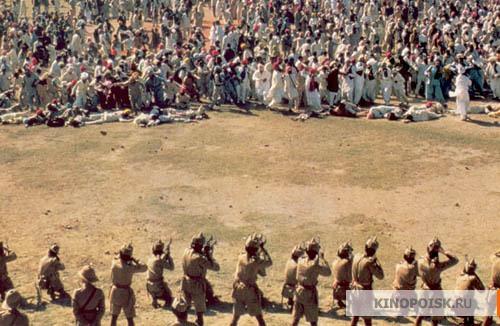 Кадр из фильма Ганди, 1982 год (09)