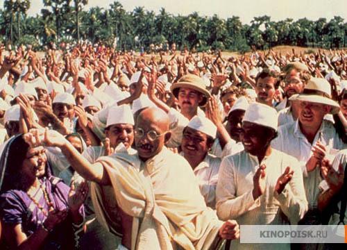 Кадр из фильма Ганди, 1982 год (11)