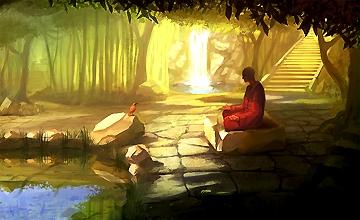 Медитация над расширением сознания