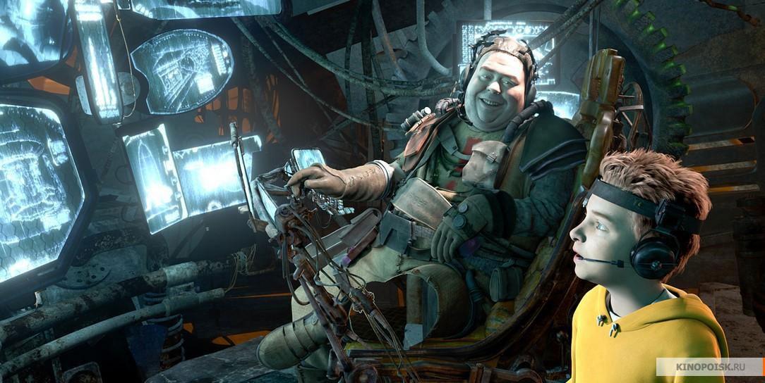Кадр из мультфильма Тайна красной планеты, 2011 год (01)