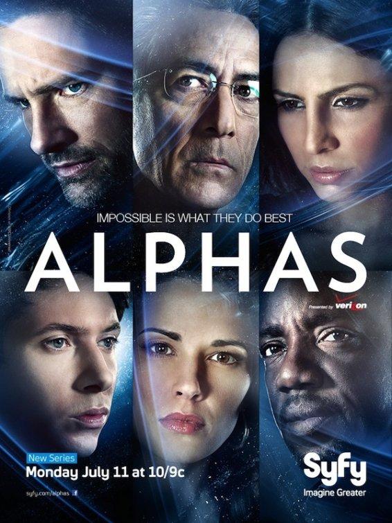 Сериал Люди Альфа, 2011-2012 год