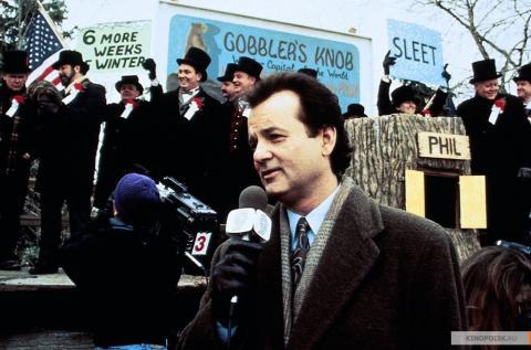 Кадр из фильма День сурка, 1993 года (05)