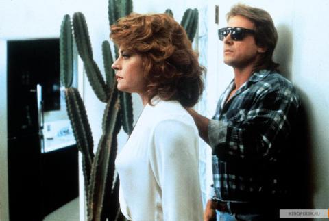 Кадр из фильма Они живут (Чужие среди нас), 1988 год (04)