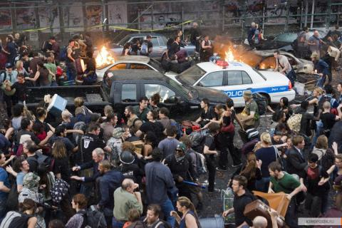 Кадр из фильма Знамение, 2009 год (10)