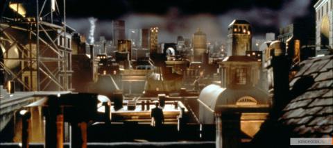 Кадр из фильма Тёмный город, 1998 год (05)