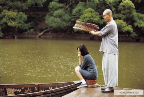 Кадр из фильма Весна, лето, осень, зима... и снова весна, 2003 год (10)