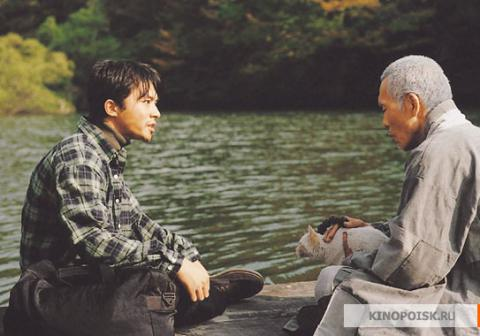 Кадр из фильма Весна, лето, осень, зима... и снова весна, 2003 год (14)
