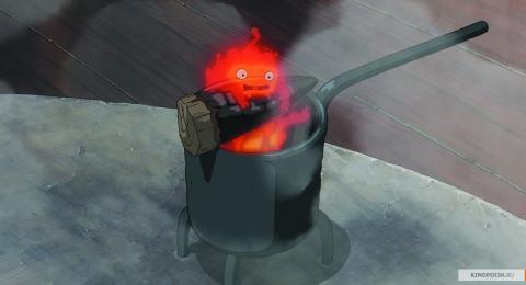 Кадр из мультфильма Ходячий замок, 2004 год (01)
