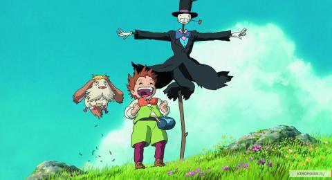 Кадр из мультфильма Ходячий замок, 2004 год (03)