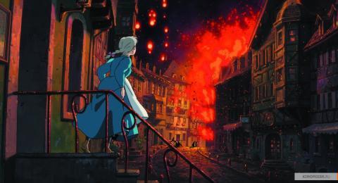 Кадр из мультфильма Ходячий замок, 2004 год (04)