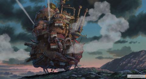 Кадр из мультфильма Ходячий замок, 2004 год (05)