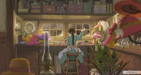 Кадр из мультфильма Ходячий замок, 2004 год (06)