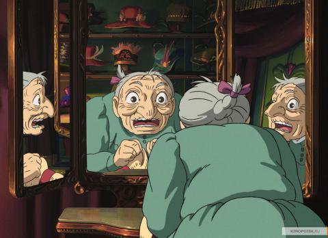 Кадр из мультфильма Ходячий замок, 2004 год (08)