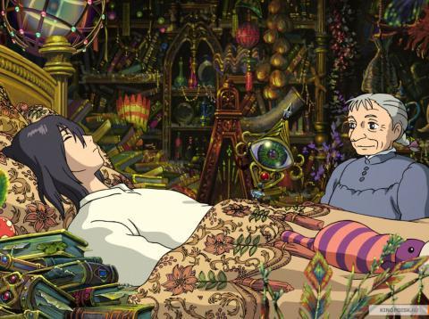 Кадр из мультфильма Ходячий замок, 2004 год (09)