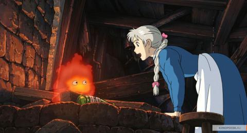 Кадр из мультфильма Ходячий замок, 2004 год (11)