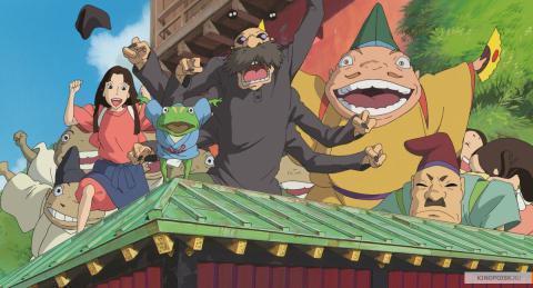 Кадр из мультфильма Унесённые призраками, 2001 год (03)