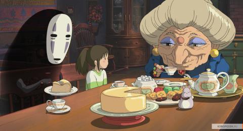 Кадр из мультфильма Унесённые призраками, 2001 год (06)