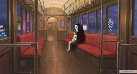 Кадр из мультфильма Унесённые призраками, 2001 год (10)