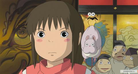 Кадр из мультфильма Унесённые призраками, 2001 год (11)