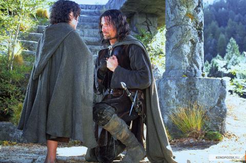 Кадр из фильма Властелин колец: Братство кольца, 2001 год (02)