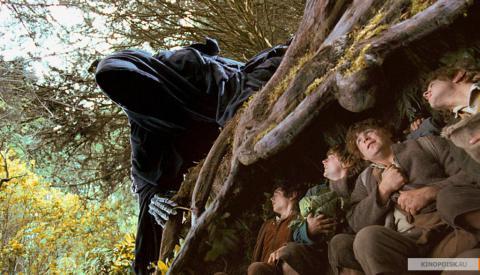 Кадр из фильма Властелин колец: Братство кольца, 2001 год (04)