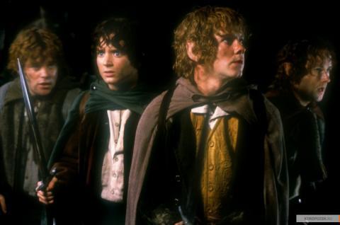 Кадр из фильма Властелин колец: Братство кольца, 2001 год (06)