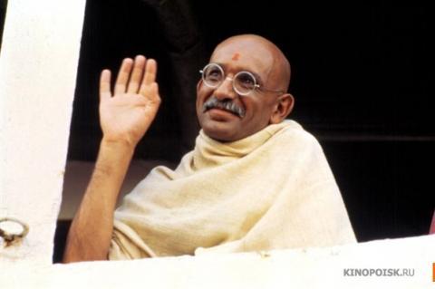 Кадр из фильма Ганди, 1982 год (02)