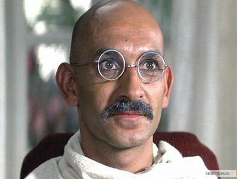 Кадр из фильма Ганди, 1982 год (04)