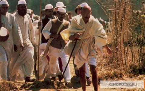 Кадр из фильма Ганди, 1982 год (07)