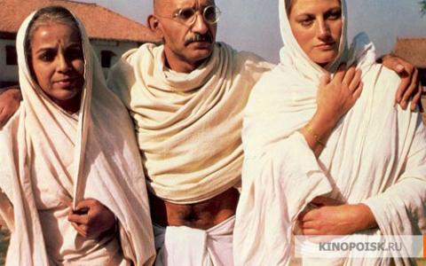 Кадр из фильма Ганди, 1982 год (12)