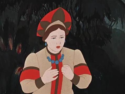 Кадр из мультфильма Аленький цветочек, 1952 год (03)