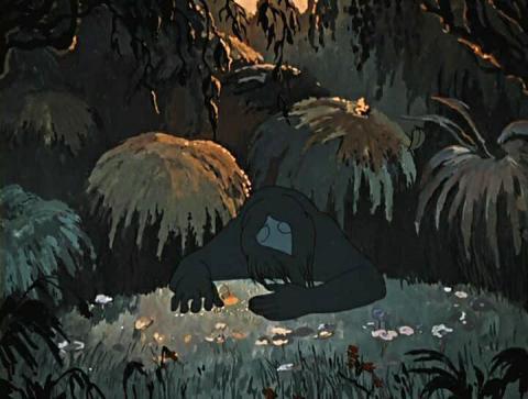 Кадр из мультфильма Аленький цветочек, 1952 год (06)