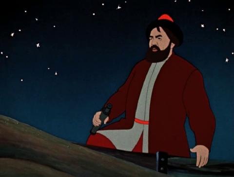 Кадр из мультфильма Аленький цветочек, 1952 год (07)