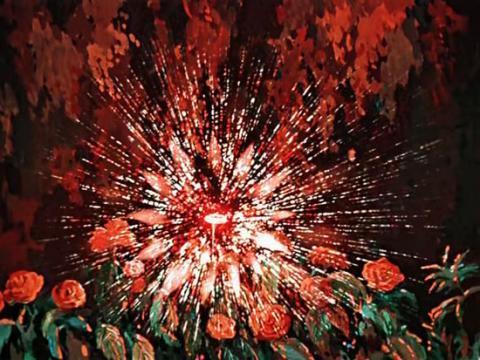 Кадр из мультфильма Аленький цветочек, 1952 год (11)