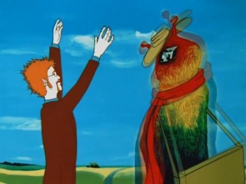 Мультфильм Контакт, 1978 год. Кадры из мультфильма (10)