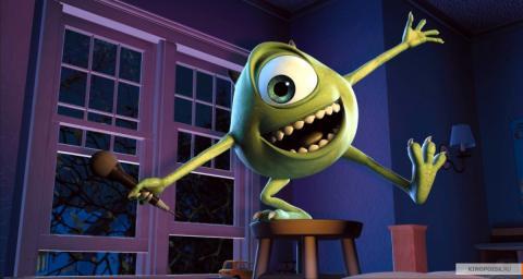 Кадр из мультфильма Корпорация монстров, 2001 год (06)