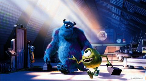 Кадр из мультфильма Корпорация монстров, 2001 год (10)